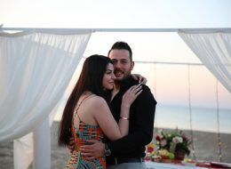 Kumsalda Romantik Evlilik Teklifi Organizasyonu İzmir