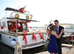 İzmir Teknede Evlenme Teklifi Organizasyon