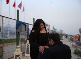 Körfezde Evlenme Teklifi Organizasyonu İzmir