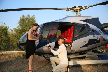 Helikopterde Evlilik Teklifi Organizasyonu İzmir Organizasyon