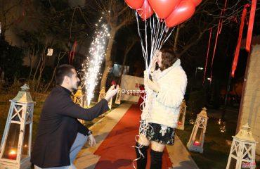 Kapı Önü Evlilik Teklifi Organizasyonu