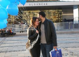 İzmir Kordon'da Evlenme Teklifi Organizasyonu Romantik Dakikalar
