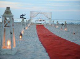 Plajda Romantik Evlilik Teklifi Organizasyonu İzmir