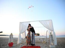 Kumsalda Evlenme Teklifi Organizasyon