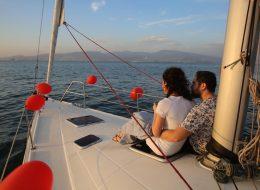 Teknede Evlilik Teklifi Organizasyonu Körfez Turu İzmir
