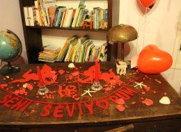 İzmir Otel Odası Süsleme Hizmeti ve Evlilik Teklifi Organizasyonu