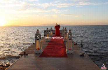 Sahilevleri'nde Evlilik Teklifi Organizasyonu İzmir