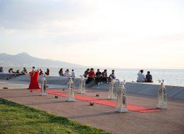 Sahilde Sürpriz Evlilik Teklifi Organizasyonu