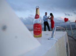 Teknede Romantik Evlilik Teklifi Organizasyonu İzmir
