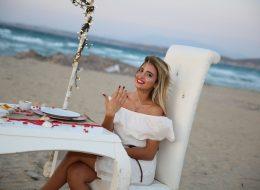 Kumsalda Evlilik Teklifi Organizasyonu İzmir