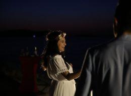 Sahilde Evlilik Teklifi Organizasyonunda Eğlenceli Anlar