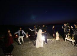 Foça'da Evlilik Teklifi Organizasyonu Keyifli Anlar