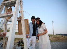 Sahilde Evlenme Teklifi Organizasyonu Foça