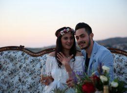 Kişiye Özel Tasarlanan Gelin Tacı ve Bileklik ile Evlilik Teklifi Organizasyonu