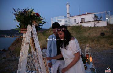 Ayvalık Kumsalda Evlilik Teklifi Organizasyonu