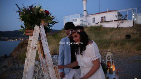 Deniz Fenerinde Evlilik Teklifi Organizasyonu Burçe & Berke