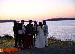 İzmir Deniz Kenarında Evlilik Teklifi Organizasyonu