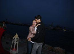 İnciraltı Sahilde Muhteşem Evlilik Teklifi Organizasyonu
