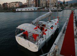 Yelken Kulübünde Evlenme Teklifi Organizasyonu İzmir