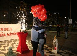 Kordonda Evlenme Teklifi Organizasyonu