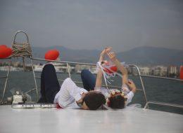 Teknede Evlilik Teklifi Organizasyonu ve Romantik Dakikalar