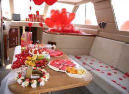 Tekne İçin Süsleme ve Uçan Balonlar