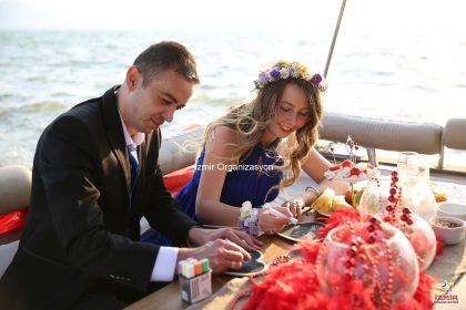 Körfezde Yatta Evlilik Teklifi Organizasyonu