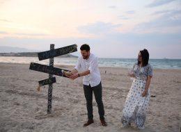 Evlilik Teklifini Şampanya Patlatarak Kutlama İzmir