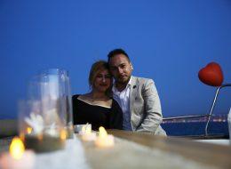 Körfezde Evlenme Teklifi Organizasyonu