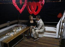 Mutluluk Teknesinde Evlilik Teklifi Organizasyonu Körfez Turu