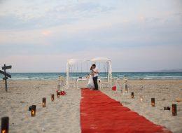 Ege Plajında Evlenme Teklifi Organizasyonu Merve & Mehmet