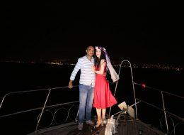 Havai Fişek Gösterisi ile Evlenme Teklifi Organizasyonu Seren & Metin
