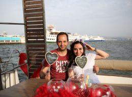 Mutluluk Teknesinde Evlenme Teklifi Organizasyonu