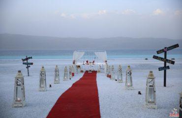 Kapı Önü Evlilik Teklifi Organizasyonu Halime & Burak