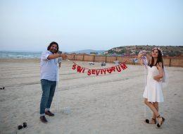 Palyaço Servisi çıkışlı VIP Araçla İl Evlilik Teklifi Organizasyonu