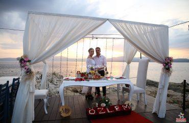 İskelede Evlenme Teklifi Organizasyonu İzmir