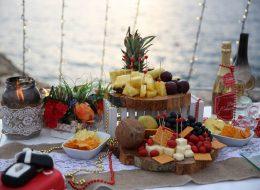 Masa dekor ve gazebo ile evleme teklifi organizasyonu