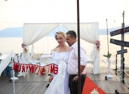Sığacık'ta evlenme teklifi organizasyonu