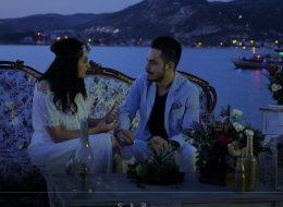 Plajda Romantik Evlenme Teklifi Organizasyonu Foça