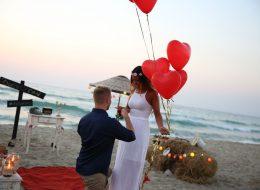 Kuşadası Sahilde Evlilik Teklifi Organizasyonu