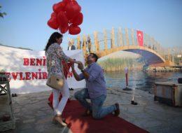 Akyakada Romantik Evlilik Teklifi Organizasyonu