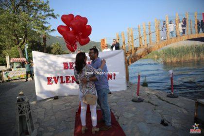 Akyaka Evlilik Teklifi Organizasyonu Paketi