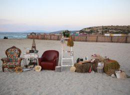 Koltuk Dekor İle evlenme teklifi organizasyonu