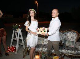 Havai Pasta ile Kutlama-Evlenme teklifi organizasyonu