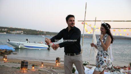 Issız Adada Evlilik Teklifi Organizasyonu İzmir Organizasyon