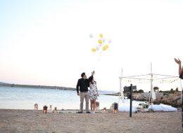 Uçan Balonların Gökyüzüne Bırakıldığı Anlar