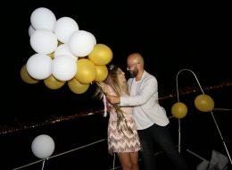 Yatta Havai Fişek Eşliğinde Evlenme Teklifi Organizasyonu Sena & Tolga