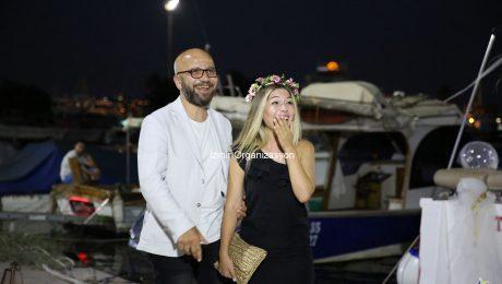 Yatta Havai Fişek Eşliğinde Evlenme Teklifi Organizasyonu