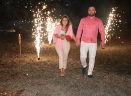 Kuşadası Kumsalda Evlenme Teklifi Organizasyonu