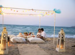 Plajda Evlilik Teklifi Organizasyonu